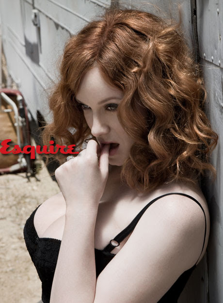 Christina Hendricks _ Esquire 1