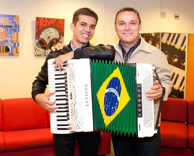 Luan e Amazan (Foto: Dafne Bastos/ TV Globo)