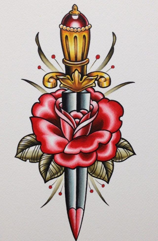 Tatuaggi Con Rose Significato Disegni E Immagini