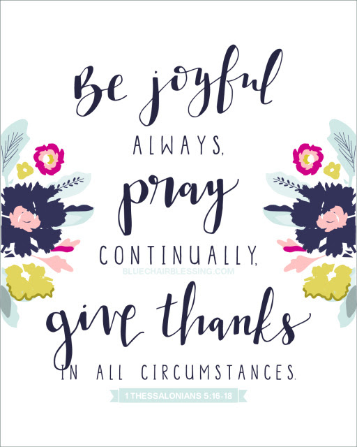 Image result for give thanks in all circumstances