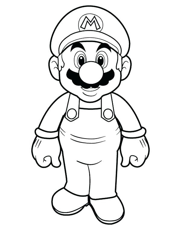 All Mario Characters Coloring Pages at GetColorings.com ...