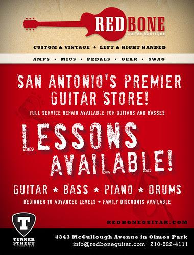 Redbone Guitar Boutique: SA Current 2