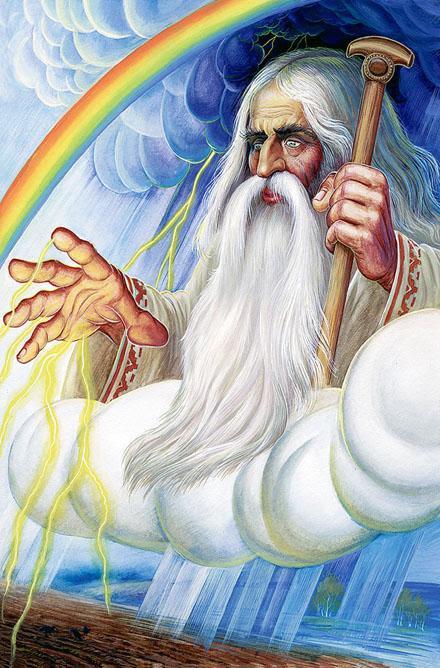 """Образ Бога  Перуна в """"Велесовой Книге"""""""