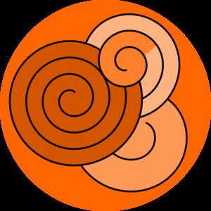 Spiral Design Clip Art at Clker.com - vector clip art ...