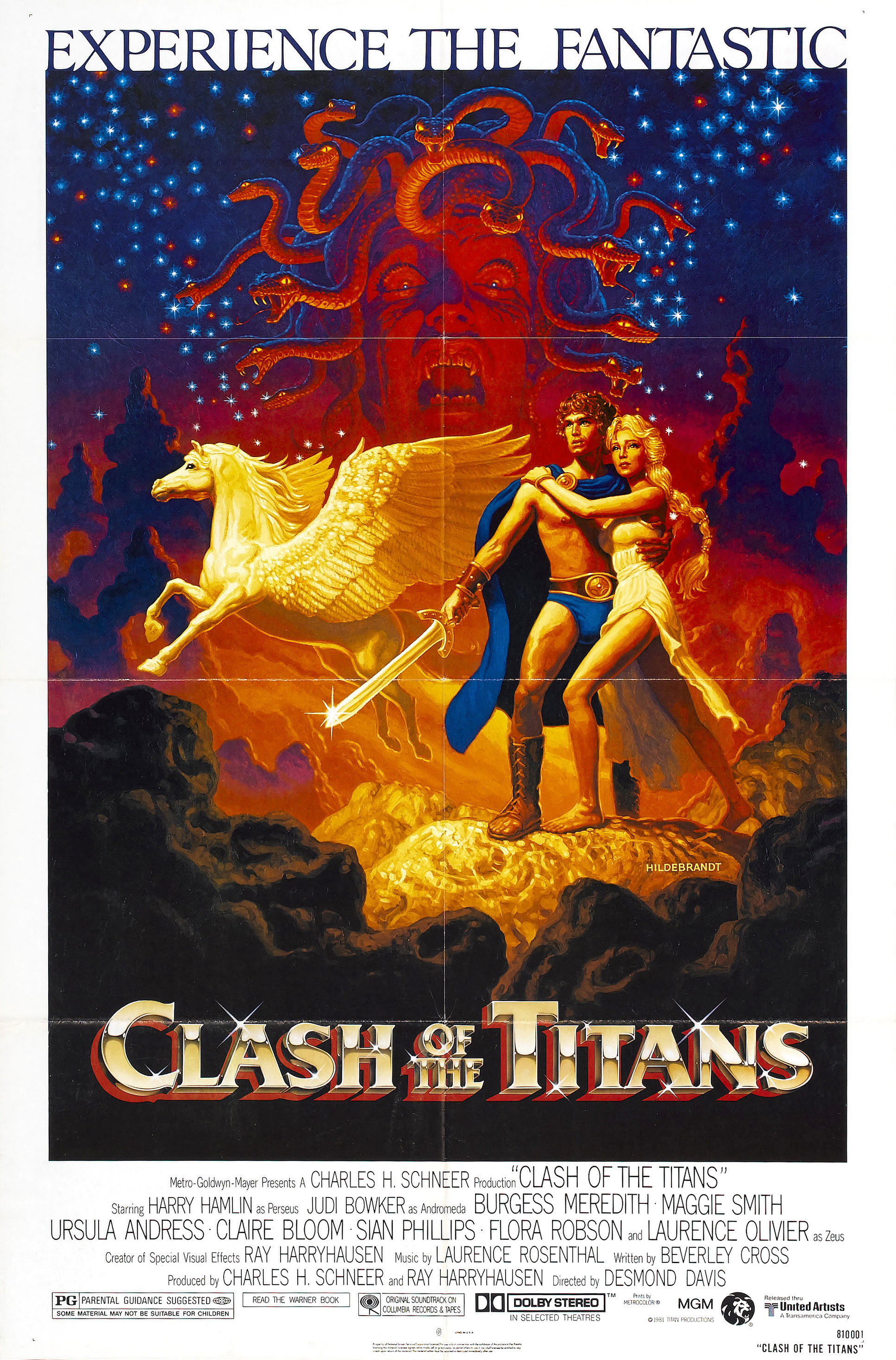 Greg and Tim Hildebrandt - Clash Of The Titans Poster, 1981