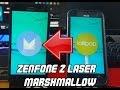 ASUS ZenFone 2 Laser ZE500KL Marshmallow Firmware Download and installation