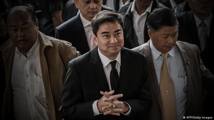 Abhisit Vejjajiva, ehemaliger Premierminister Thailand Bangkok (Foto: AFP)