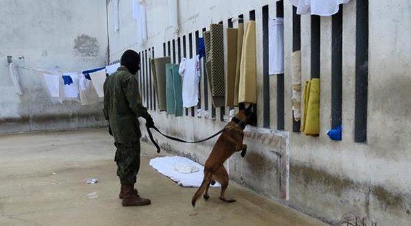 Passaram por vistoria as Cadeias Pública de Natal e de Mossoró, a Penitenciária de Alcaçuz e a Mário Negócio (Foto: Divulgação Marinha).