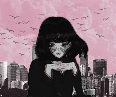 freetoedit blackandwhite anime aesthetic city