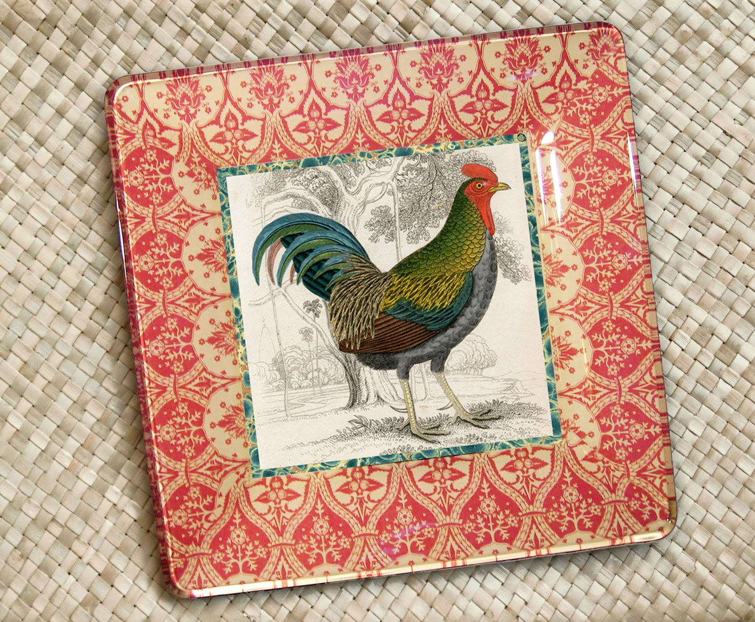 Popular items for rooster decor on Etsy