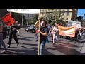 Βίντεο από την αντιπολεμική-αντιμιλιταριστική πορεία Σαββάτου 24/10