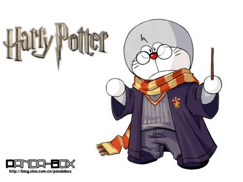 doraemon - harry potter