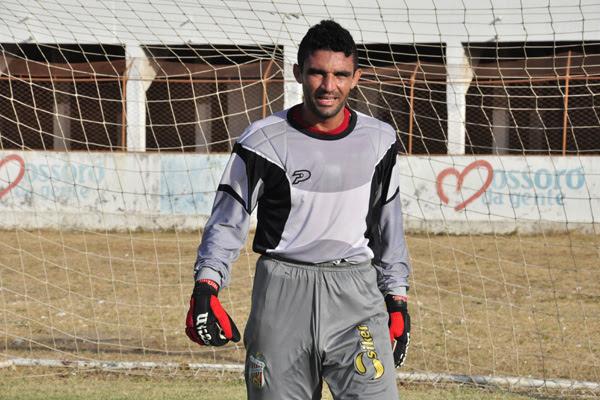 O experiente goleiro Érico, do Baraúnas,  vem sendo um dos destaques da equipe mossoroense