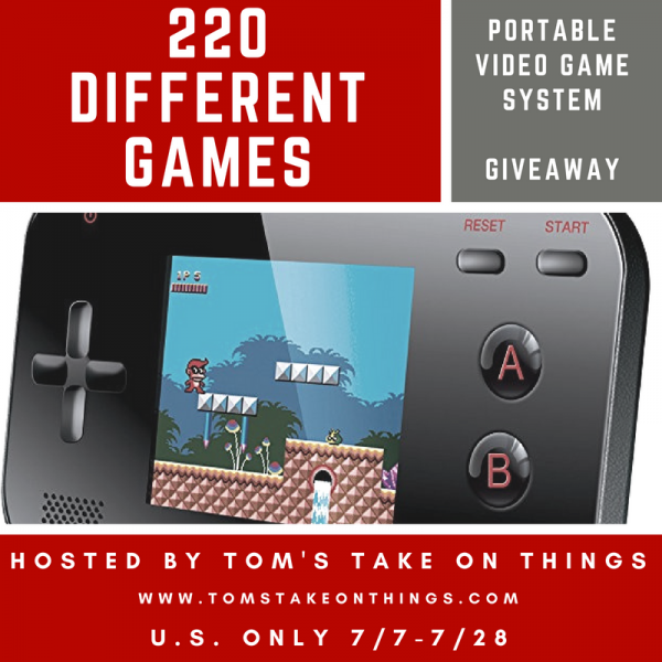 Play Games on the Go Giveaway ~ 220 Games Ends 7/28 So what is your favorite video game of all time to play?