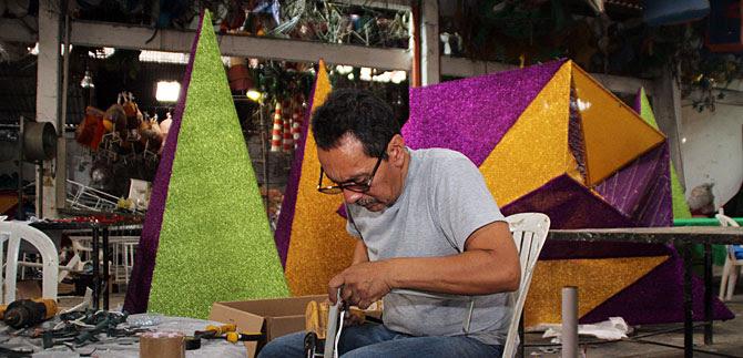 El alumbrado navideño, trae alegría, conciencia ambiental, empleo y dinamismo económico