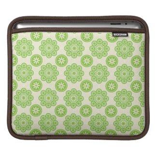 Spring Green Floral iPad Sleeve rickshaw_sleeve