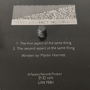 FACT 14C Testcard - Martin Hannett