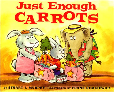 http://www.amazon.com/Just-Enough-Carrots-MathStart-1/dp/0064467112/ref=pd_bxgy_14_img_y