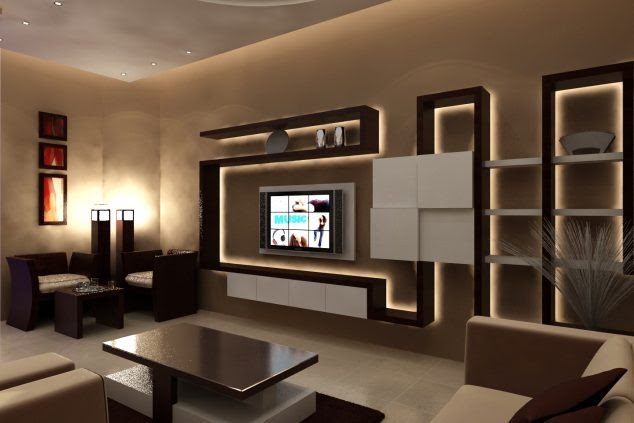 Image Result For Living Room Tv Wall Lighting