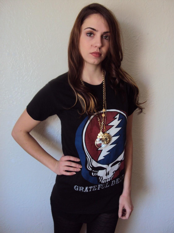 Vintage Signature Grateful Dead Rock T shirt