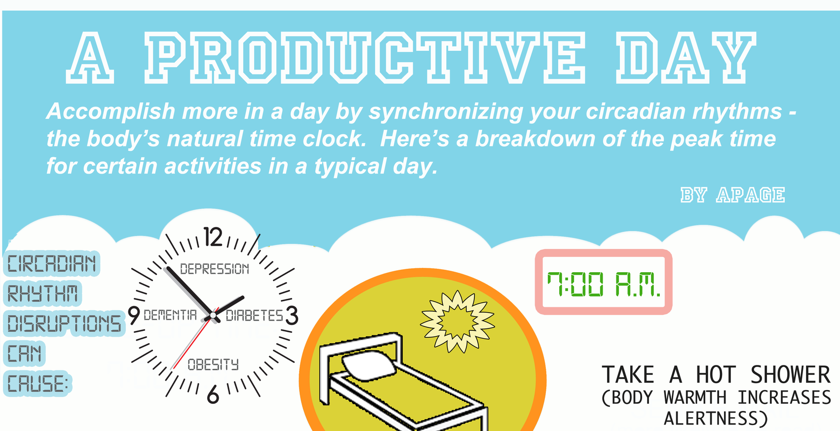 A Daily Routine to Maximize Productivity [Infographic ...