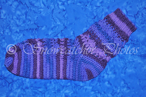Susie Sock in Susie Purple