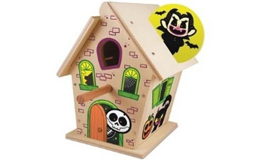 lowes haunted birdhouse craft