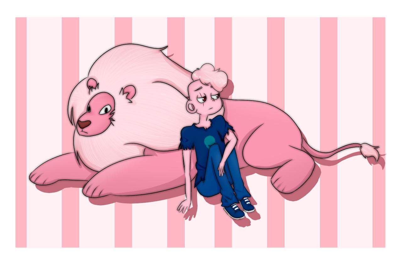 I'm pink?!
