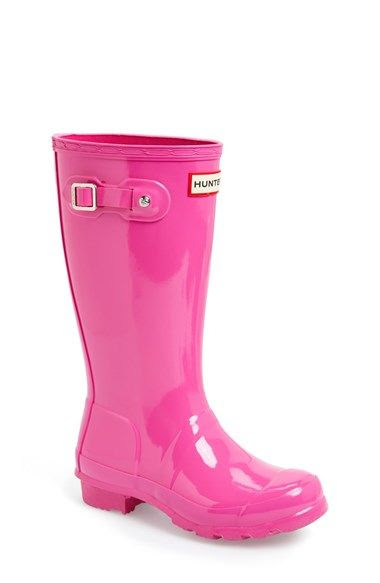Hunter 'Original Gloss' Rain Boot (Little Kid & Big Kid) | Nordstrom