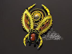 Beadwork: spilla ape | Fiera Masters - artigianale, fatto a mano