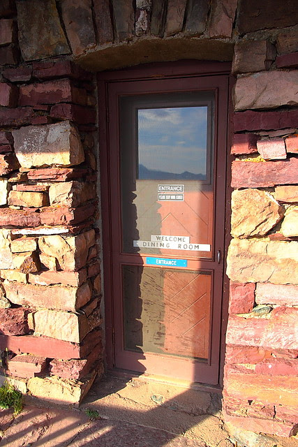 IMG_8315 Front Door of Granite Park Chalet