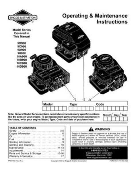 25A550A129 MTD 3.5 HP 550 Series Briggs And Stratton