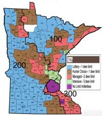 Mn Deer Hunting Zone Map News Presspubs Com