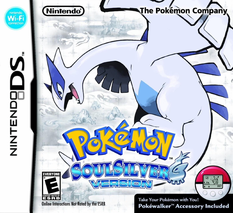 Pokemon SoulSilver Version DS Game