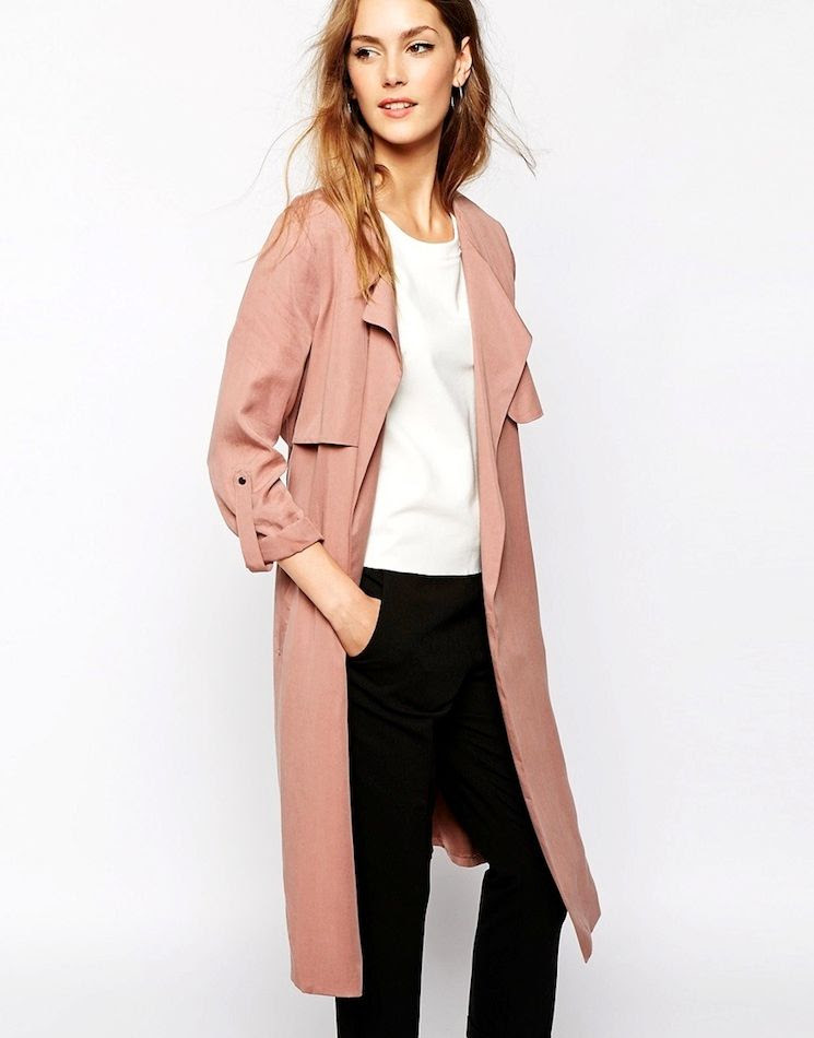Le Fashion Blog Spring Style Must Have Rose Pink Trench Coat White Cropped Top Black Trousers photo Le-Fashion-Blog-Spring-Style-Must-Have-Rose-Pink-Trench-Coat-White-Cropped-Top-Black-Trousers.jpg
