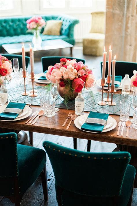 Rose Gold and Peony ? Modern Metallic Wedding Shoot