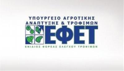 Πρόστιμα 487.500 ευρώ σε επιχειρήσεις τροφίμων