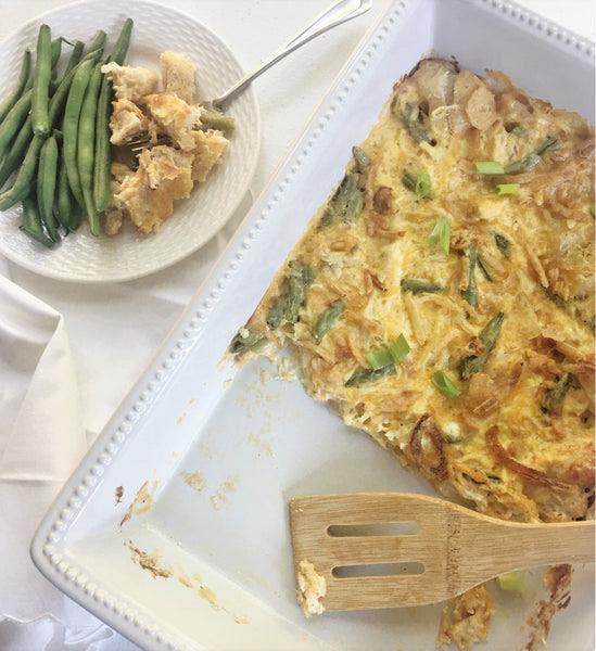 Hallelujah Kitchen Happy Chicken And Green Bean Casserole Supper Meals