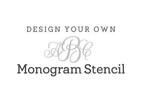 Create Your Own Monogram Initials Free   Joy Studio Design