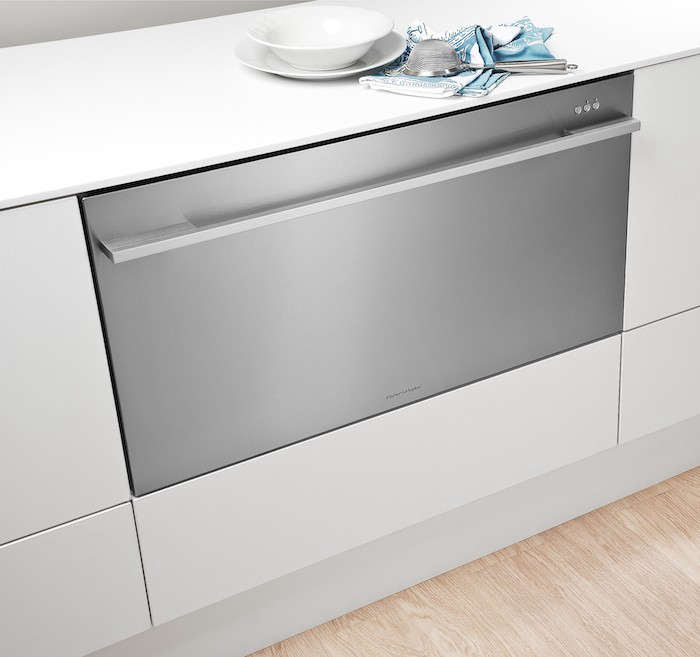 Fisher Paykel Dishdrawer Wide Closed DD36SDFX1 Remodelista 700x657