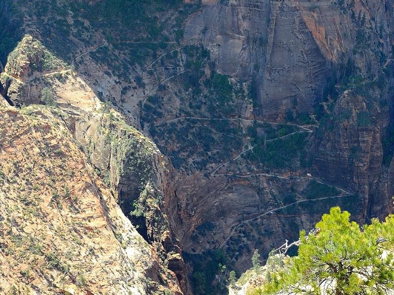 DSCN6384 Observation Point Trail, Zion National Park