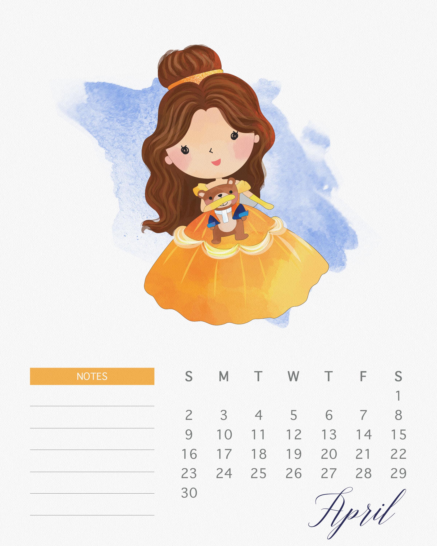 TCM Princess Calendar 4 April