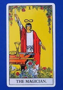 cartea de tarot Magicianul
