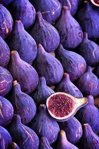 Luscious purple figs looks so ripe and yummy. #purple