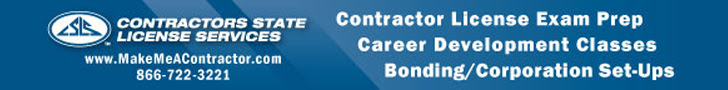 Contractors STate License Services