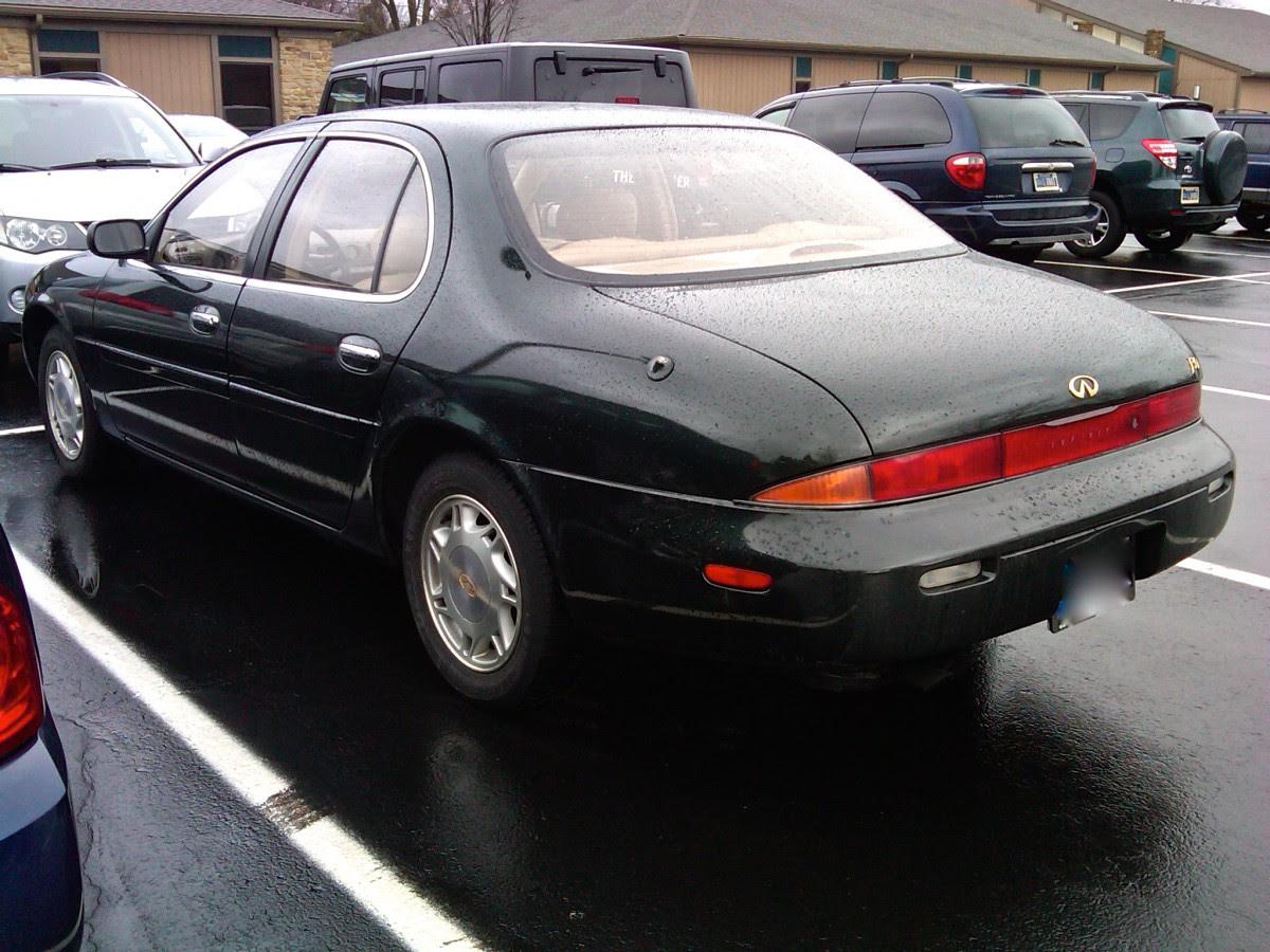 Curbside Classic: 1997 Infiniti J30 - Jellybean Jealousy