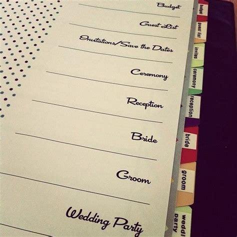 Best 25  Wedding organizer ideas on Pinterest   Diy