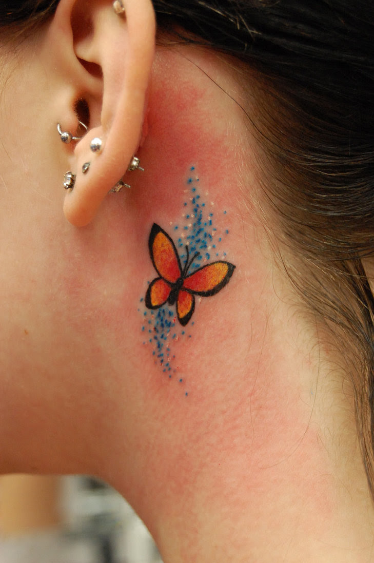 42 COLORFUL BUTTERFLY TATTOO IDEAS    - Godfather Style