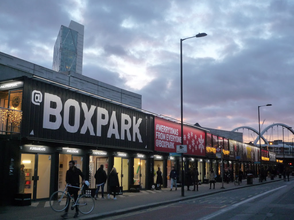 Boxpark Pop-up Mall