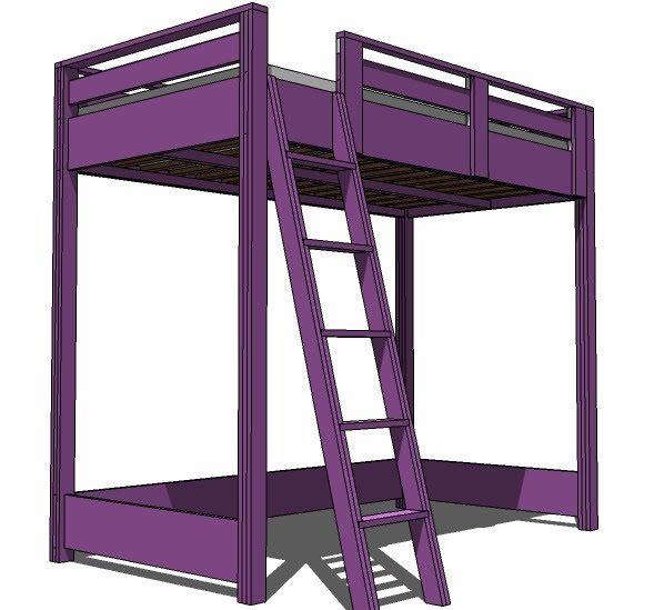 $200 full sized bunk bed